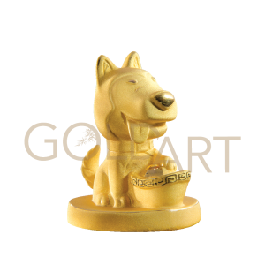 Golden Puppy of Prosperity